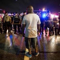 Police shooting, protests put Ferguson back on edge